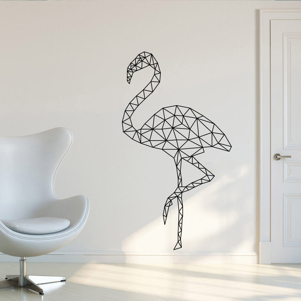 Image of Abstrakt flamingo
