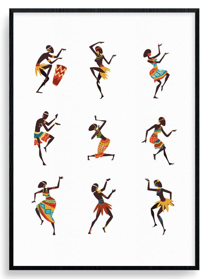 Image of African Dance Plakat