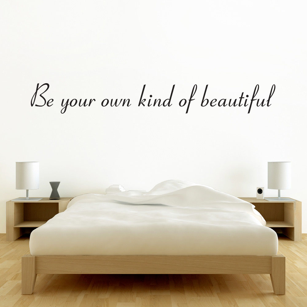 Image of   Be your own kind of beautiful