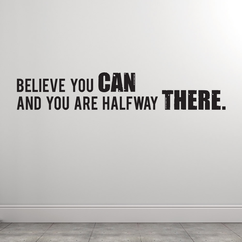 Image of   Believe you can