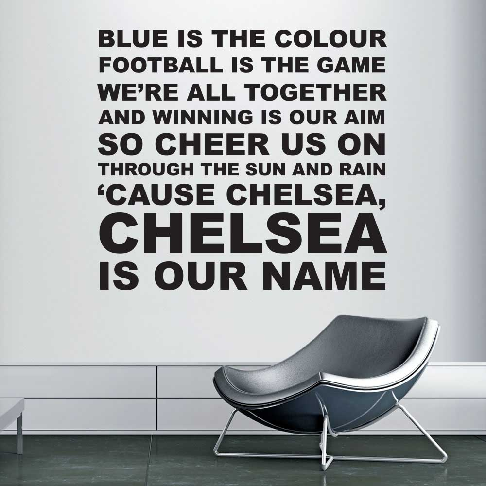 Image of   Blue is the colour - Chelsea