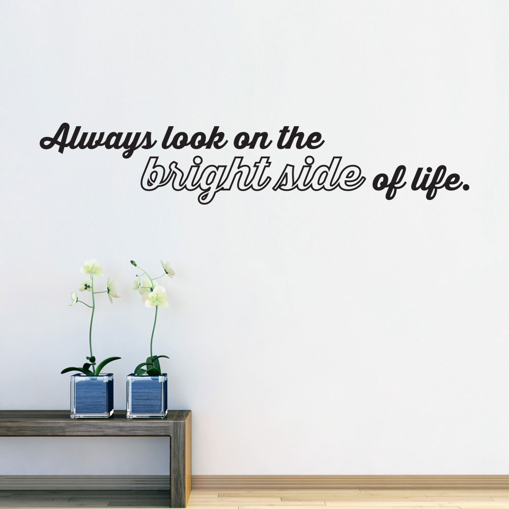 Image of   Always look on the bright side of life