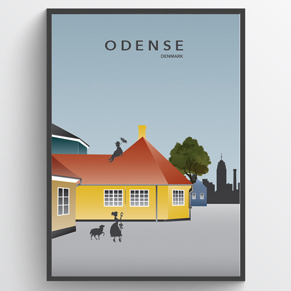 Image of   Odense - plakat