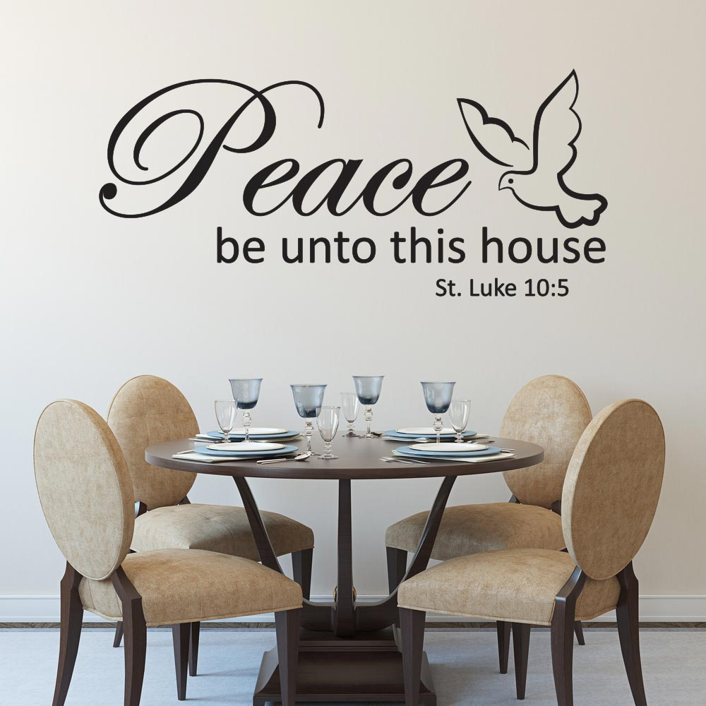 Image of   Peace be unto this house