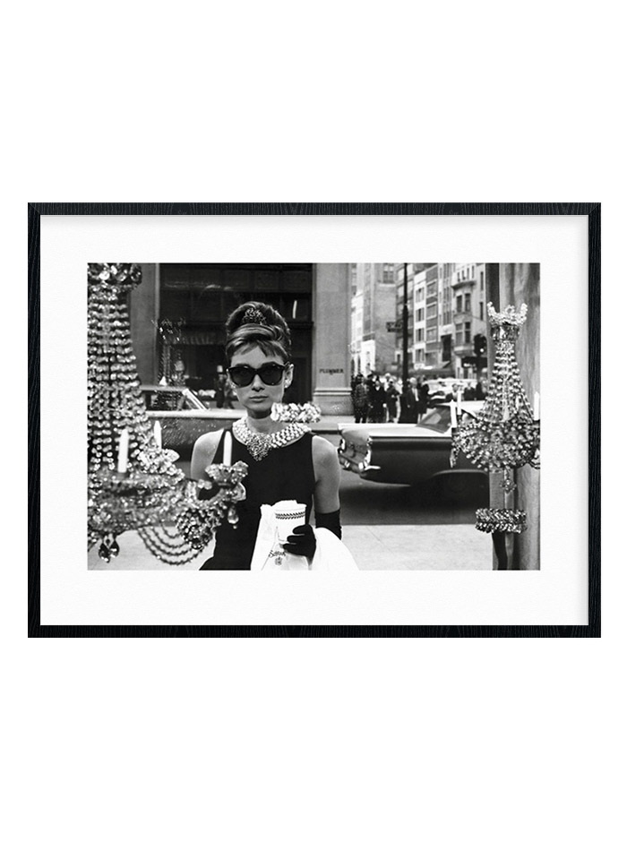 Image of Audrey Hepburn - Window Plakat