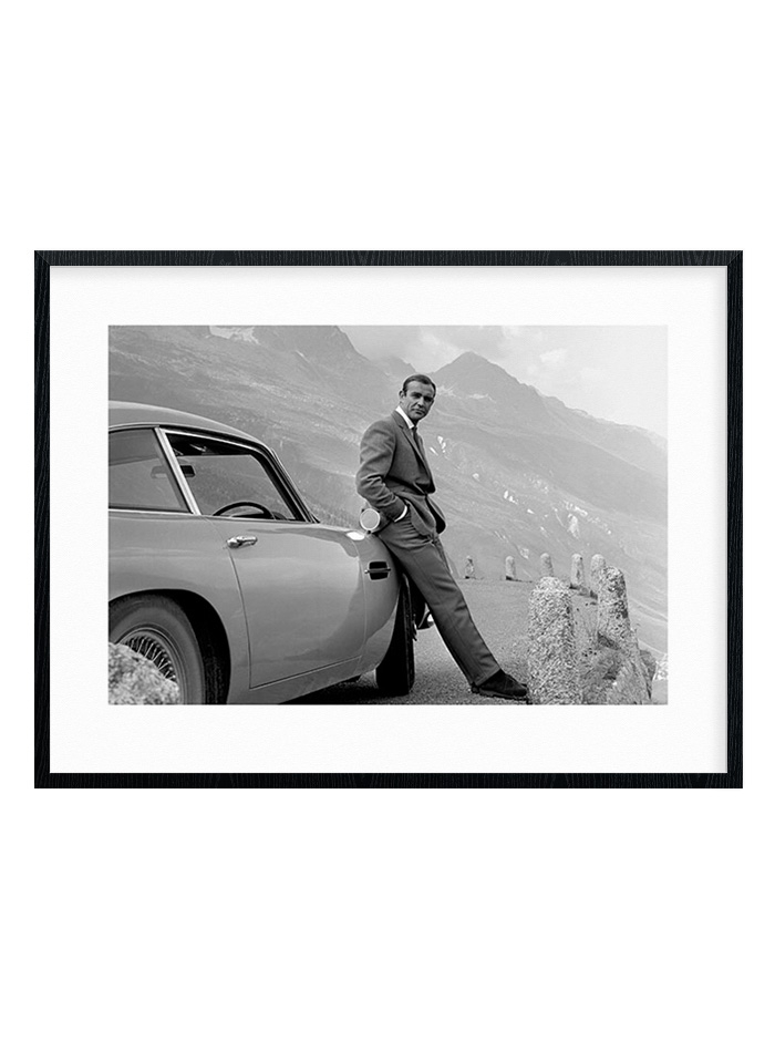 Image of #1 James Bond - Aston Martin Plakat
