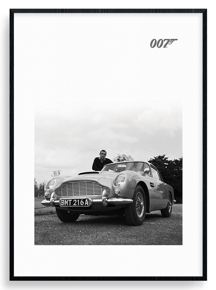 Image of   #2 James Bond - Aston Martin Plakat