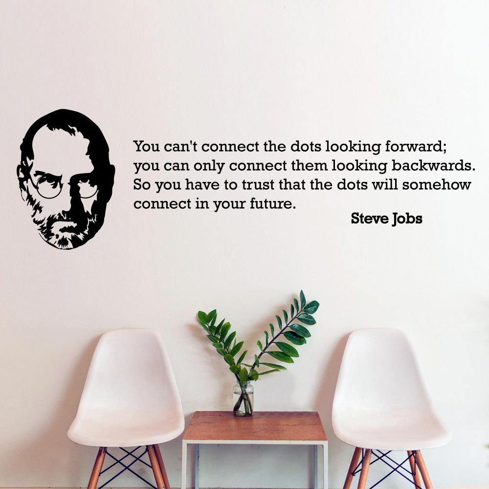 Image of   Connect the dots - Steve Jobs