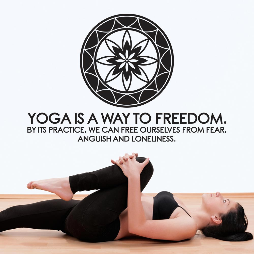 Yoga is a way to freedom