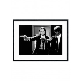 Pulp Fiction (B&W Guns) Plakat wallsticker