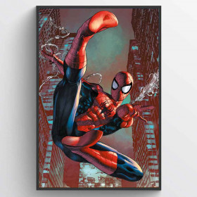 Spiderman - Web Sling Plakat wallsticker