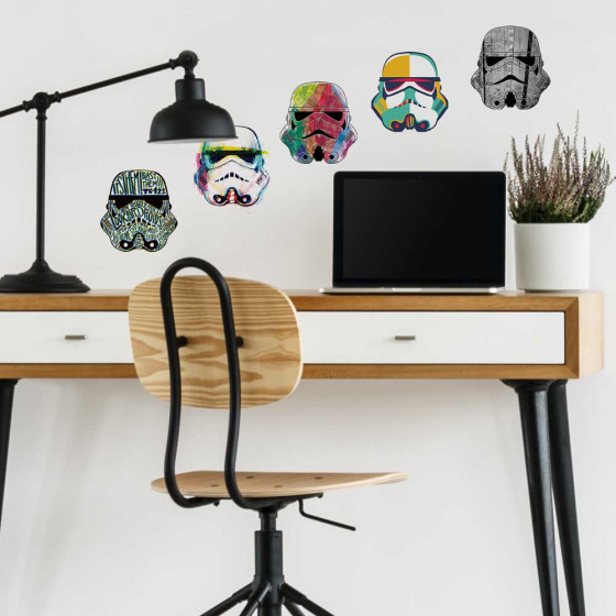 Star Wars - Stormtroopers wallsticker