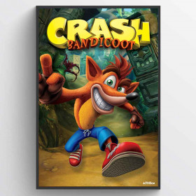 Crash Bandicoot (Next Gen Bandicoot) Plakat wallsticker
