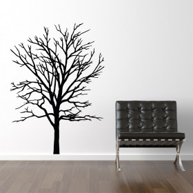 Træ silhuet wallsticker wallsticker