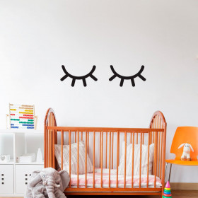 Sleepy eyes wallsticker