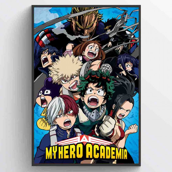 My Hero Academia Plakat wallsticker