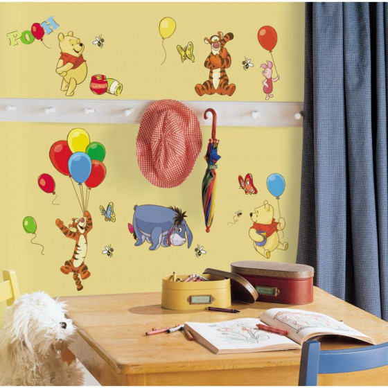 Peter Plys - pakke #1 wallsticker