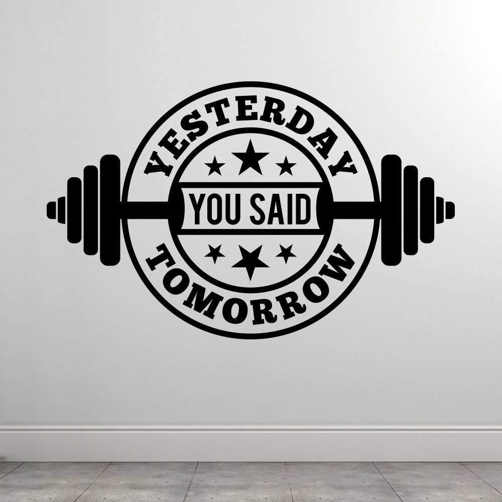 Yesterday You Said Tomorrow wallsticker