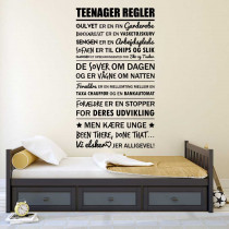 Teenager regler
