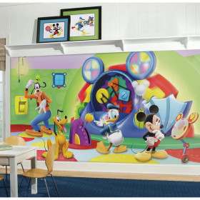 Mickey Mouse klubhus - XL wallsticker