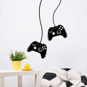 Joypad-Xbox wallsticker