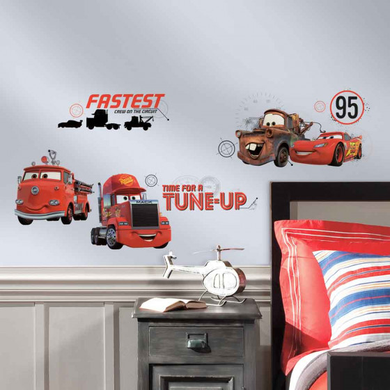 Cars - Pakke #2 wallsticker