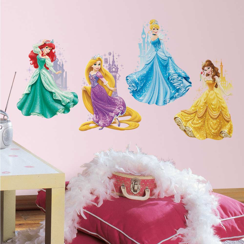 Disney Prinsesser wallsticker