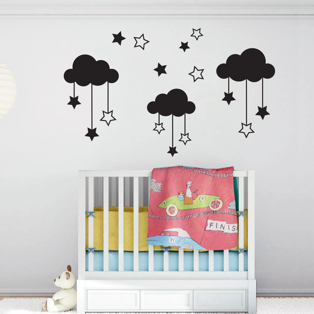 Stjerneskyer wallsticker