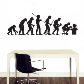 Devolution wallsticker