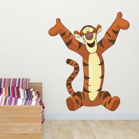 Peter Plys - Tigerdyret wallsticker