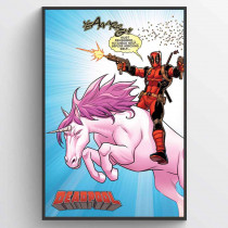 Deadpool (Unicorn) Plakat