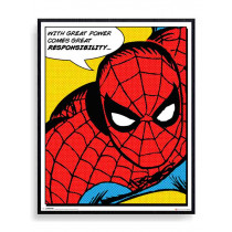 Spiderman - Great power Plakat