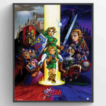 The Legend Of Zelda - Ocarina Of Time Plakat