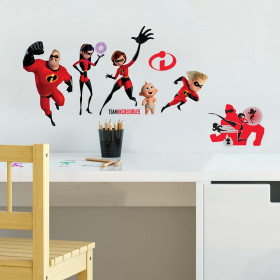 Incredibles - Pakke wallsticker