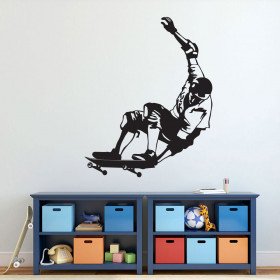 Skateboarder wallsticker