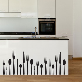Bestik wallsticker