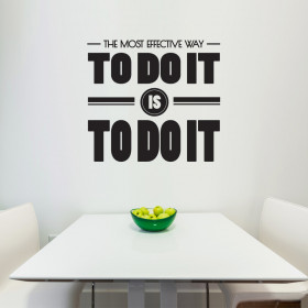 The most effective way to do it wallsticker