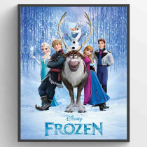 Frozen Cast Plakat