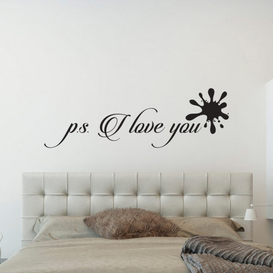 Ps. i love you #2 wallsticker
