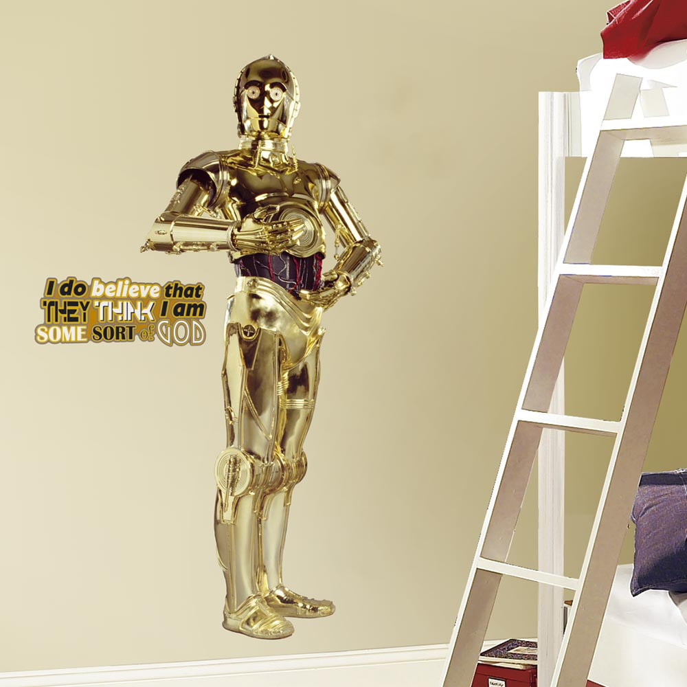 Star Wars - C3PO wallsticker