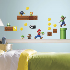 Super Mario wallsticker