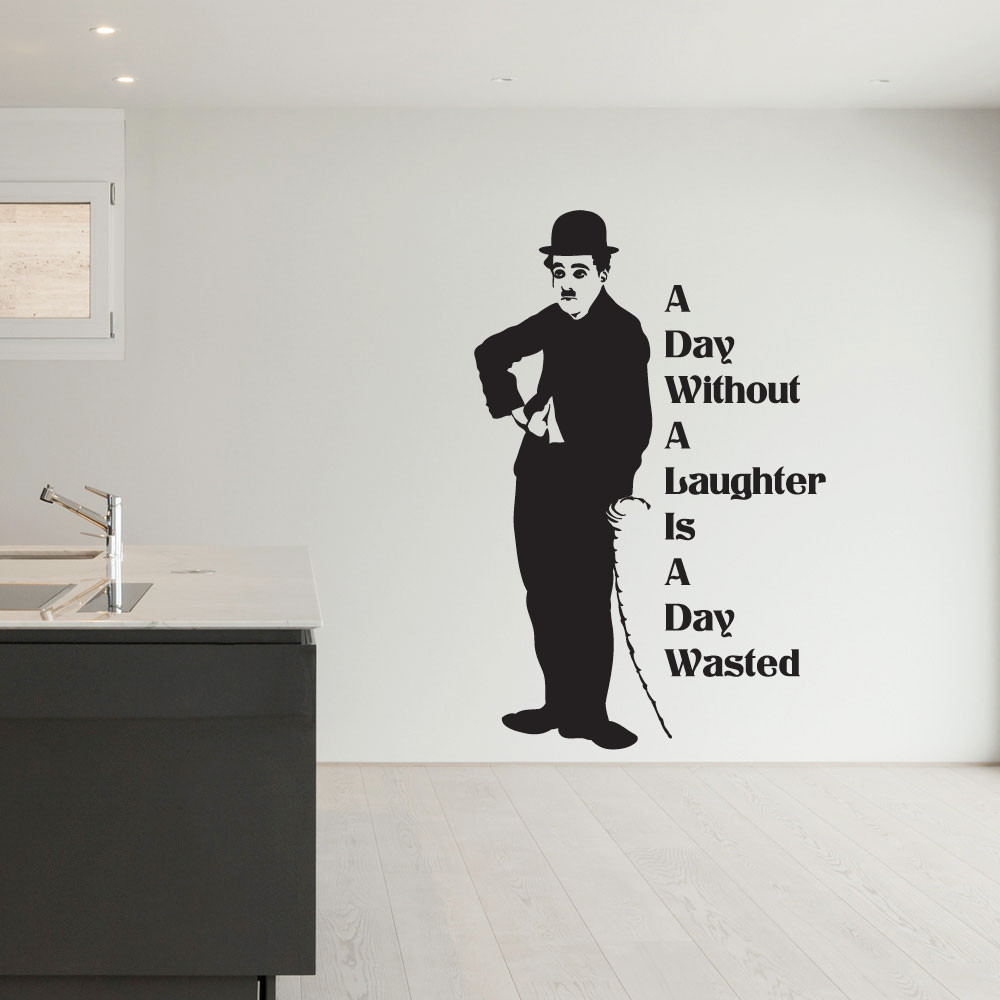 Charlie Chaplin wallsticker wallsticker