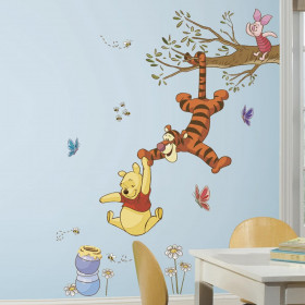 Peter Plys - Gren wallsticker