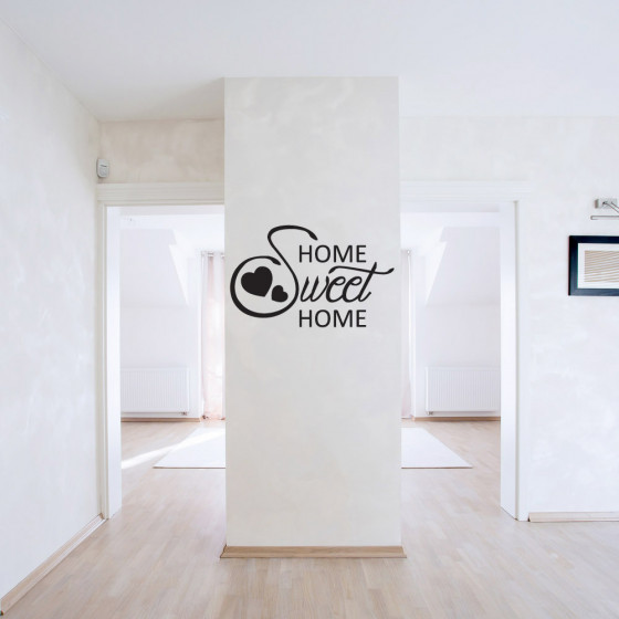2# Home sweet home wallsticker