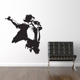 Michael Jackson wallsticker