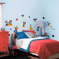 Mickey Mouse & Venner - pakke #2 wallsticker