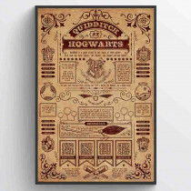 Harry Potter (Quidditch At Hogwarts) Plakat