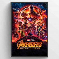 Avengers Infinity Wars One Sheet Plakat
