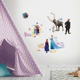 Frozen - Pakke #1 wallsticker