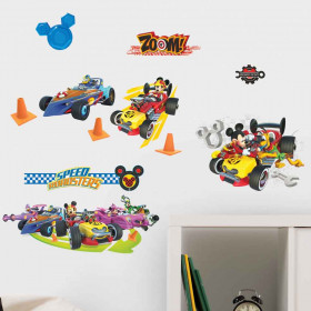 Mickey Mouse Roadsters - Pakke wallsticker
